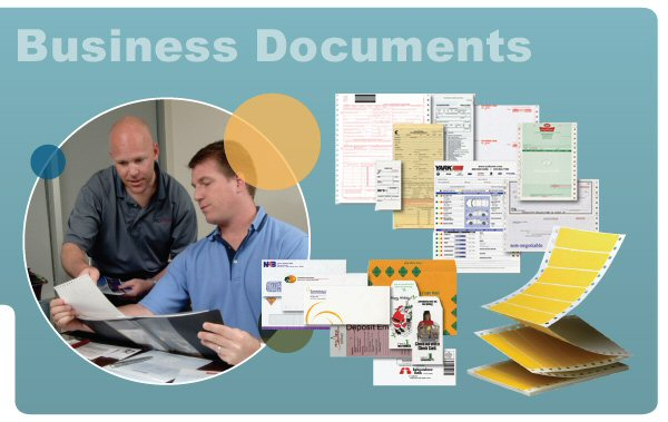 Business forms management. Custom labels and tags. Business cards and stationery.