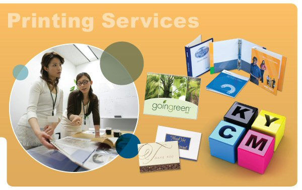 Web2Print. Web to print services. Variable data printing. 1:1 marketing.