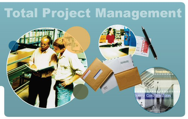 Total project management. Manage communications process. Project planning, warehousing, order fulfillment.