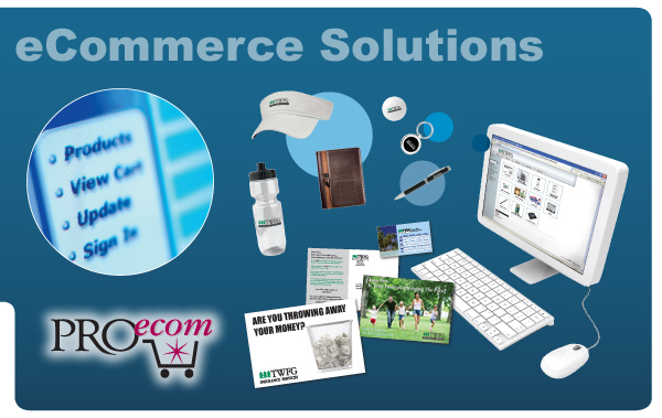 PROecom. Online company store development and implementation. Fortune Magazine. Reduce company expenses.